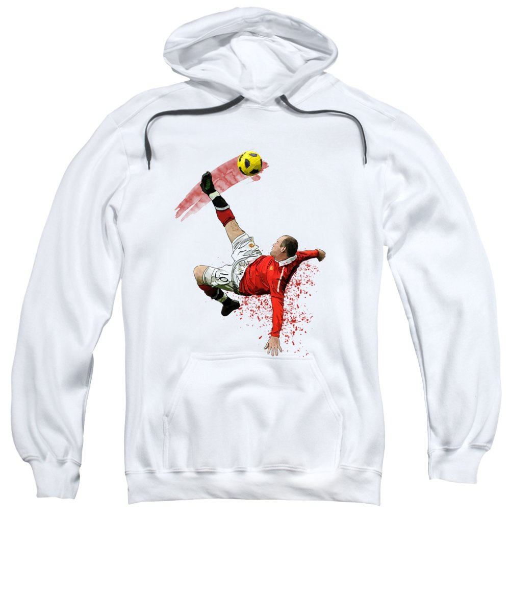Wayne Rooney Hooded Sweatshirts T-Shirts
