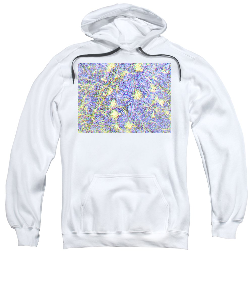 Flowers Sweatshirt featuring the photograph Beauty Among Weeds by Colette Merrill
