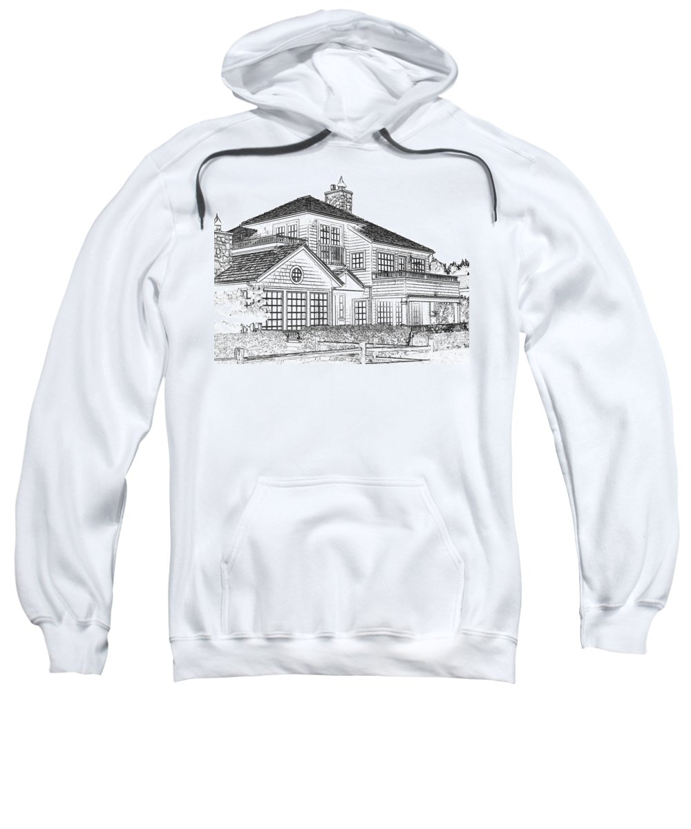 Welcome Home Sweatshirt featuring the digital art Welcome Home 1 by Will Borden