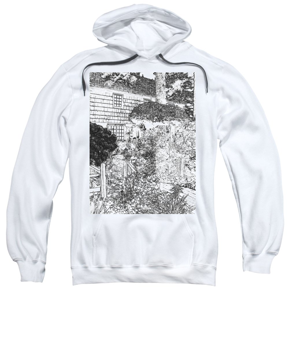 Welcome Home Sweatshirt featuring the digital art Welcome Home 2 by Will Borden