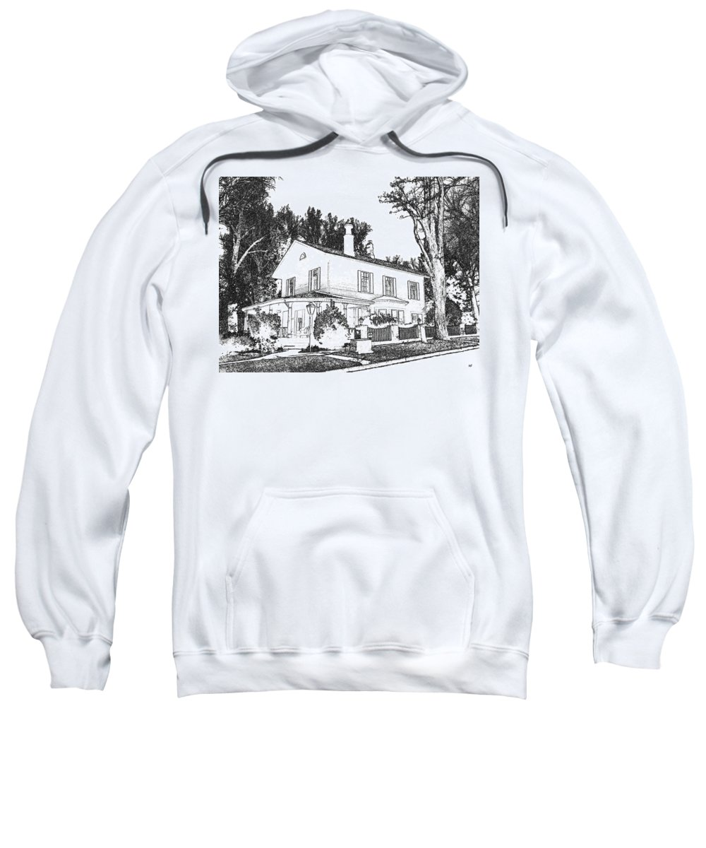 Welcome Home Sweatshirt featuring the digital art Welcome Home 6 by Will Borden