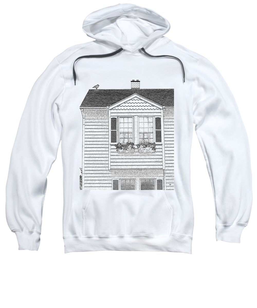 Welcome Home Sweatshirt featuring the digital art Welcome Home 7 by Will Borden