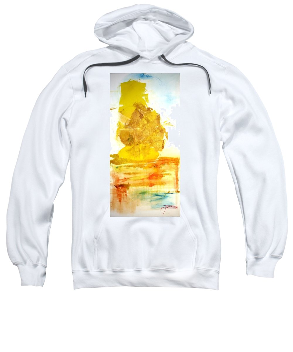 Afghanistan Sweatshirt featuring the painting What Have We Done by Jack Diamond
