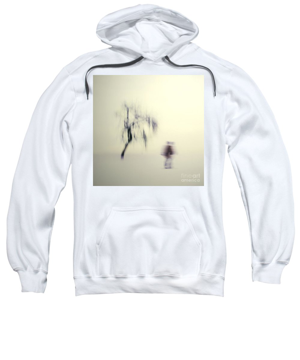 Blur Sweatshirt featuring the photograph What Is The Way To The Light by Dana DiPasquale