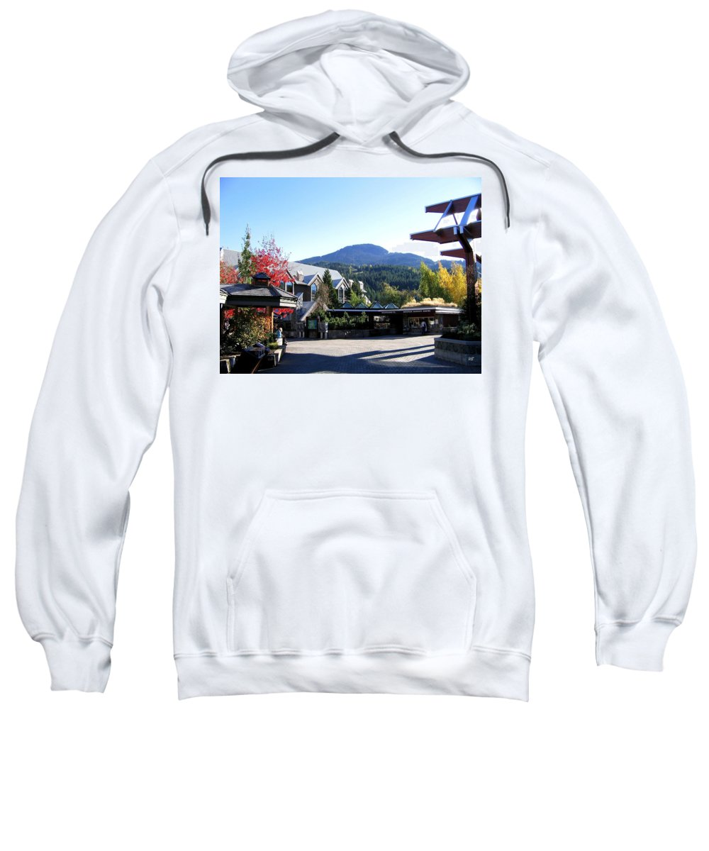 2010 Olympics Sweatshirt featuring the photograph Whistler Mountain by Will Borden