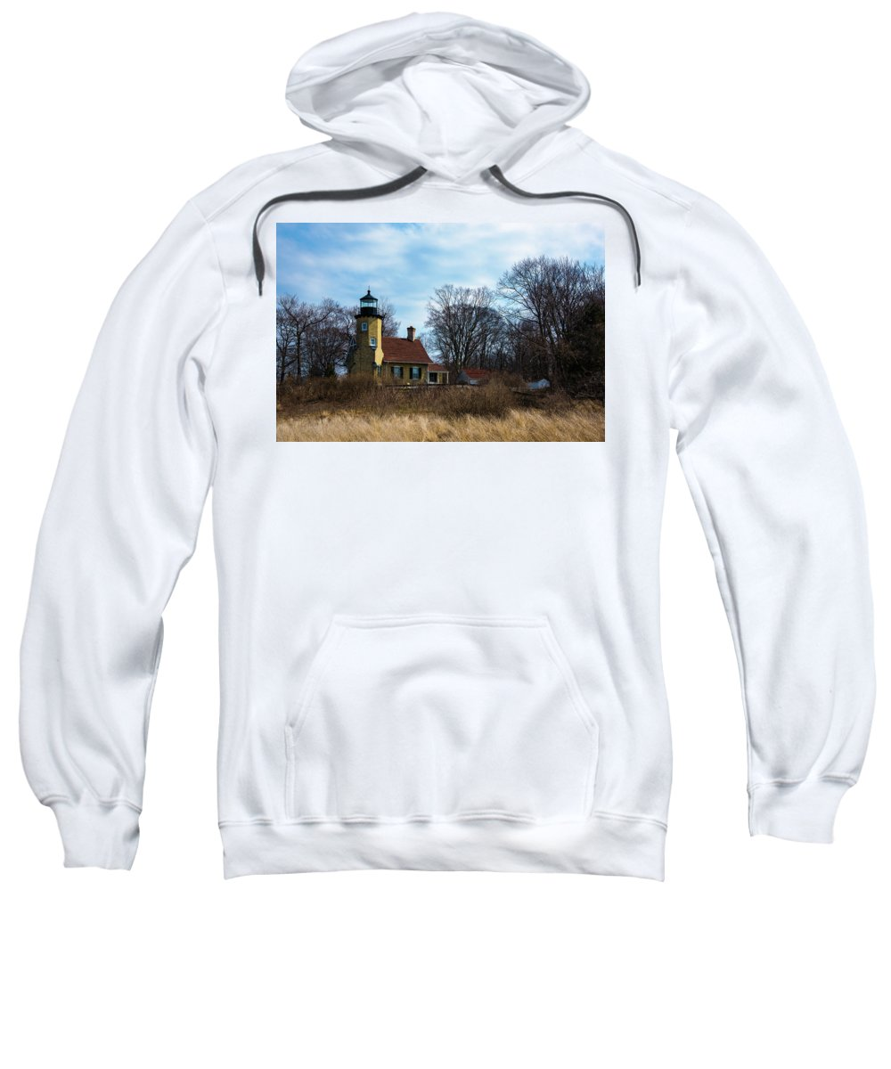 Whitehall Sweatshirt featuring the photograph Whitehall Light by Michael Tucker