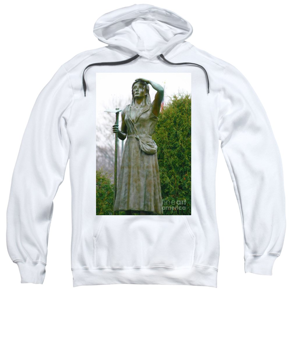 Photography Sweatshirt featuring the photograph Who Sows Believes In God by Lana Raffensperger