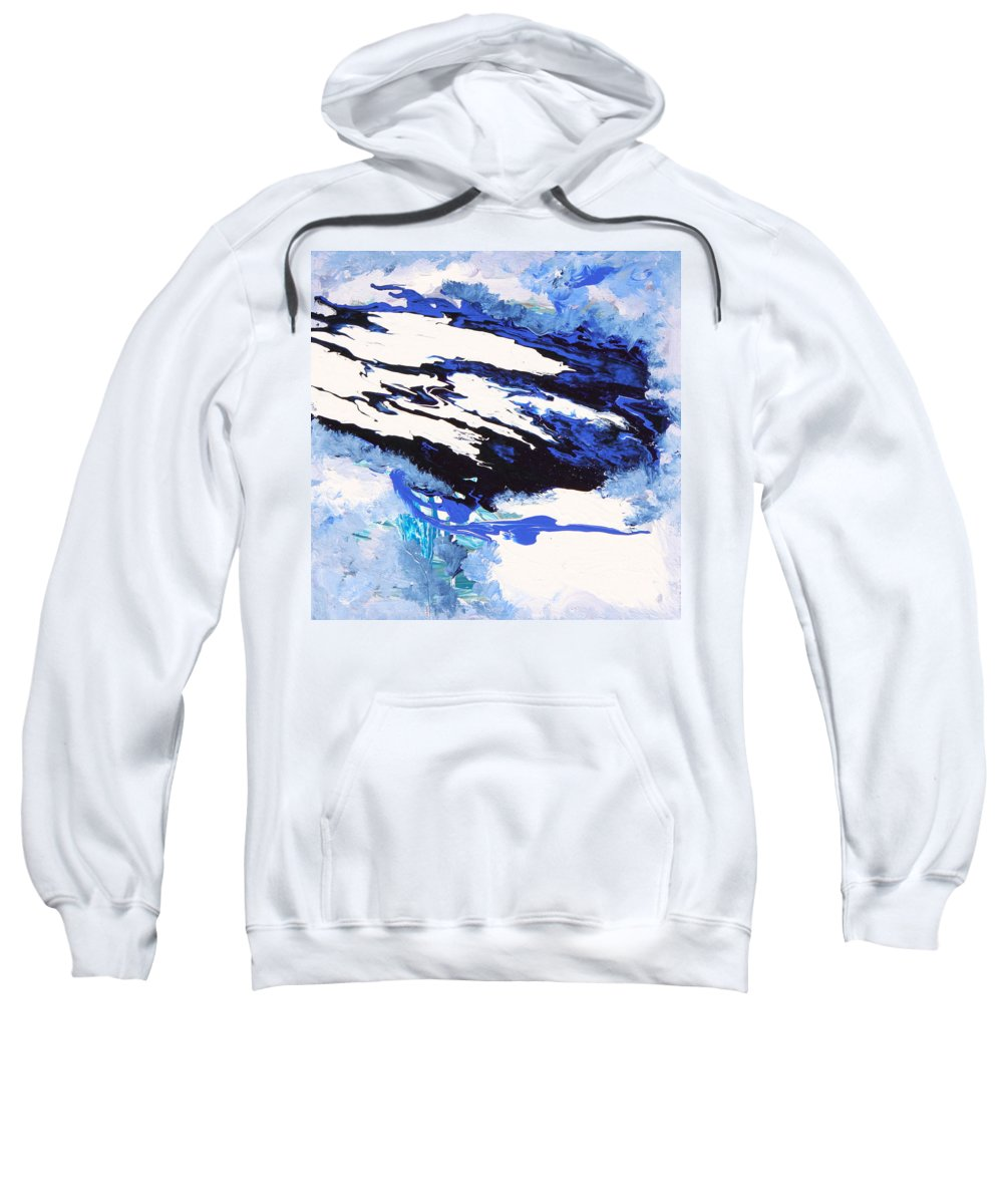 Fusionart Sweatshirt featuring the painting Wind by Ralph White