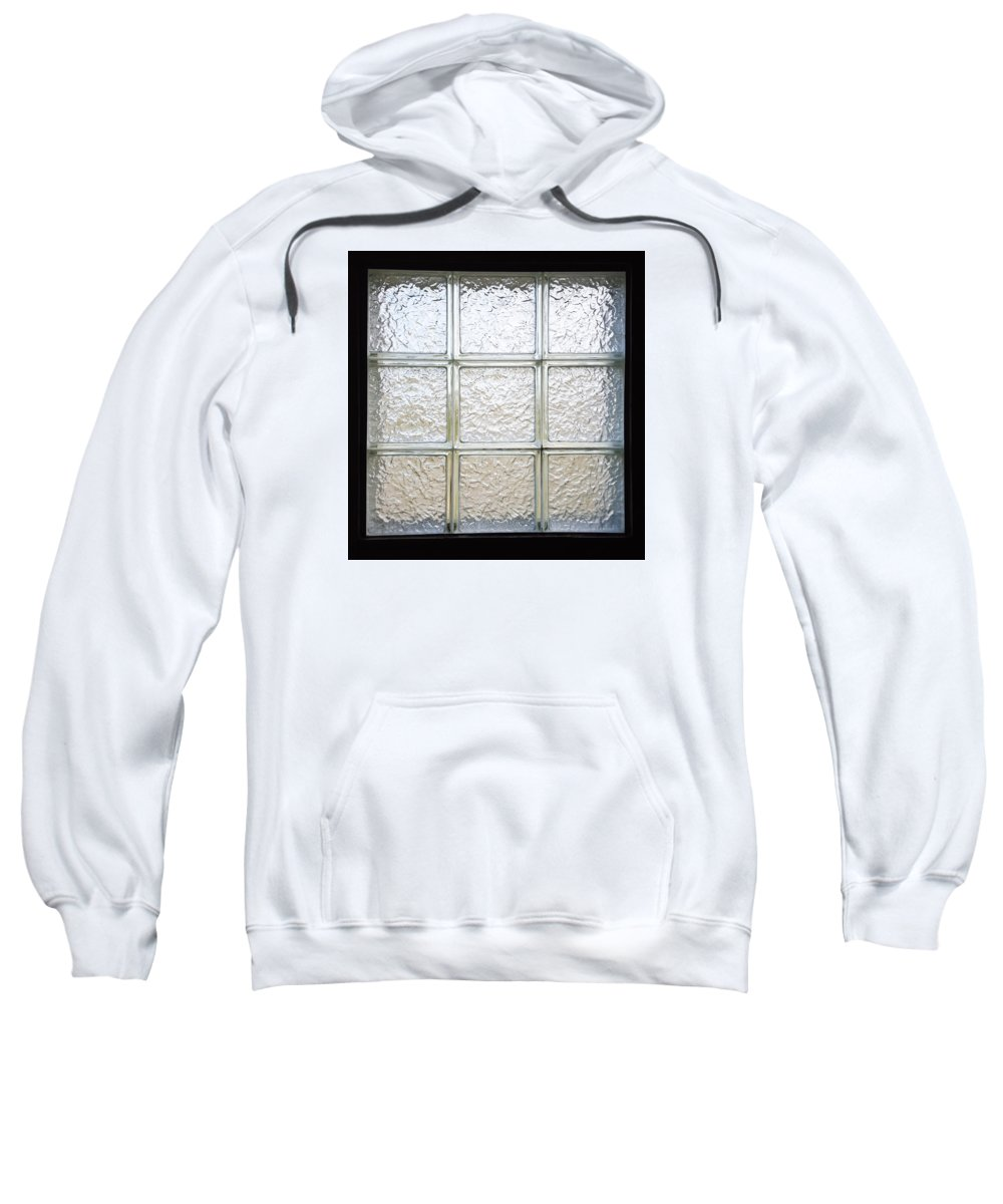 Glass Sweatshirt featuring the photograph Window Of Glass by Ami Brown