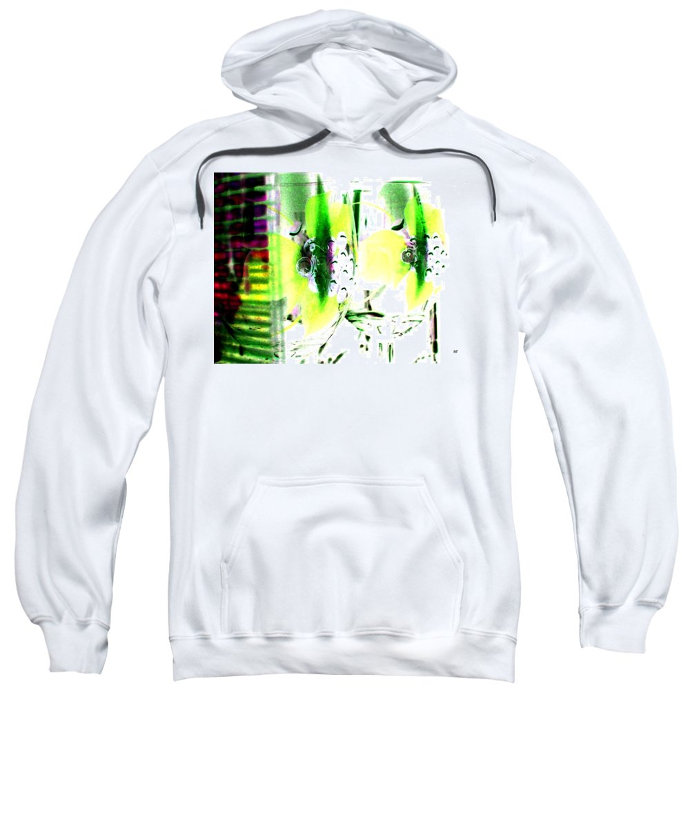Photo Design Sweatshirt featuring the digital art Wine Country Ambiance by Will Borden
