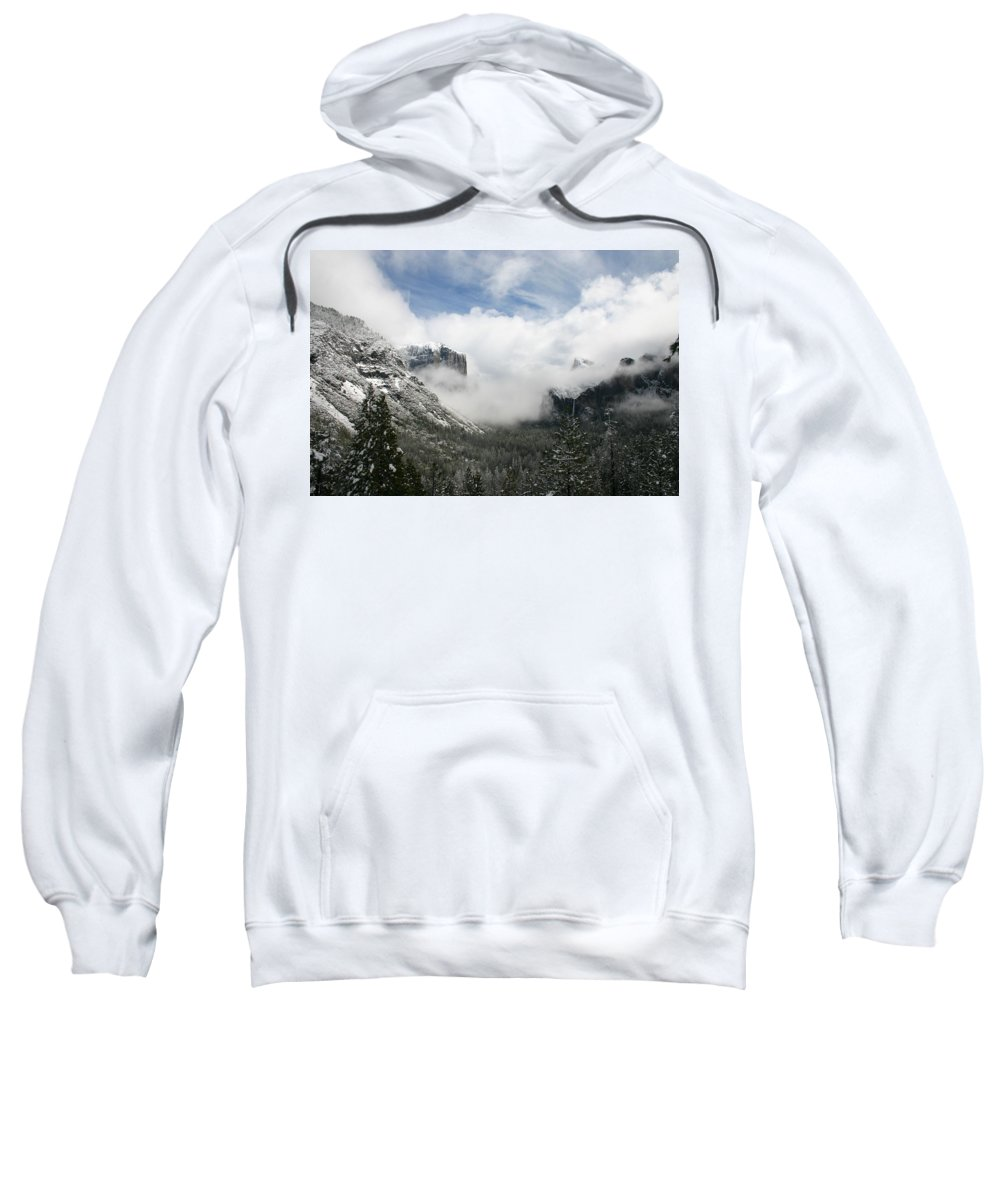 Landscape Sweatshirt featuring the photograph Winter Inspiration by Travis Day