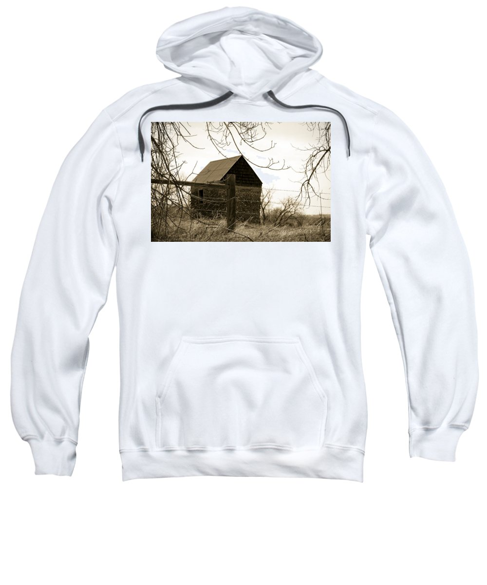 Rock Sweatshirt featuring the photograph Wistful by Marilyn Hunt