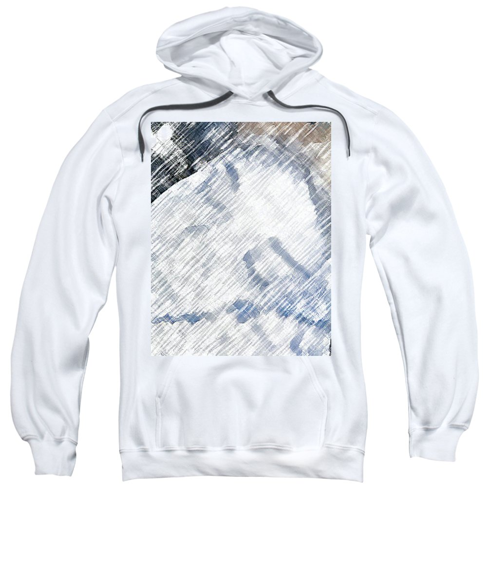 Abstract Sweatshirt featuring the photograph Woman Sleeping by Lenore Senior