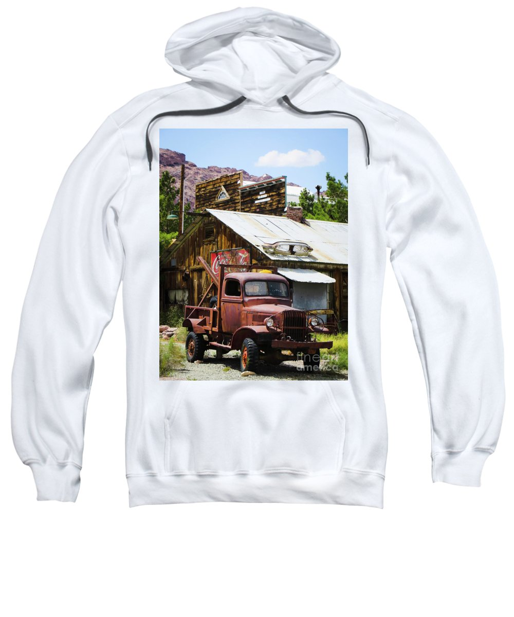 Mining Sweatshirt featuring the photograph Work Horse by Robert Lowe