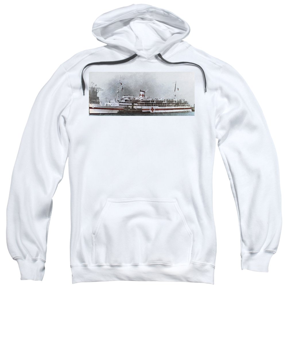 1941 Sweatshirt featuring the photograph World War II: Pearl Harbor by Granger