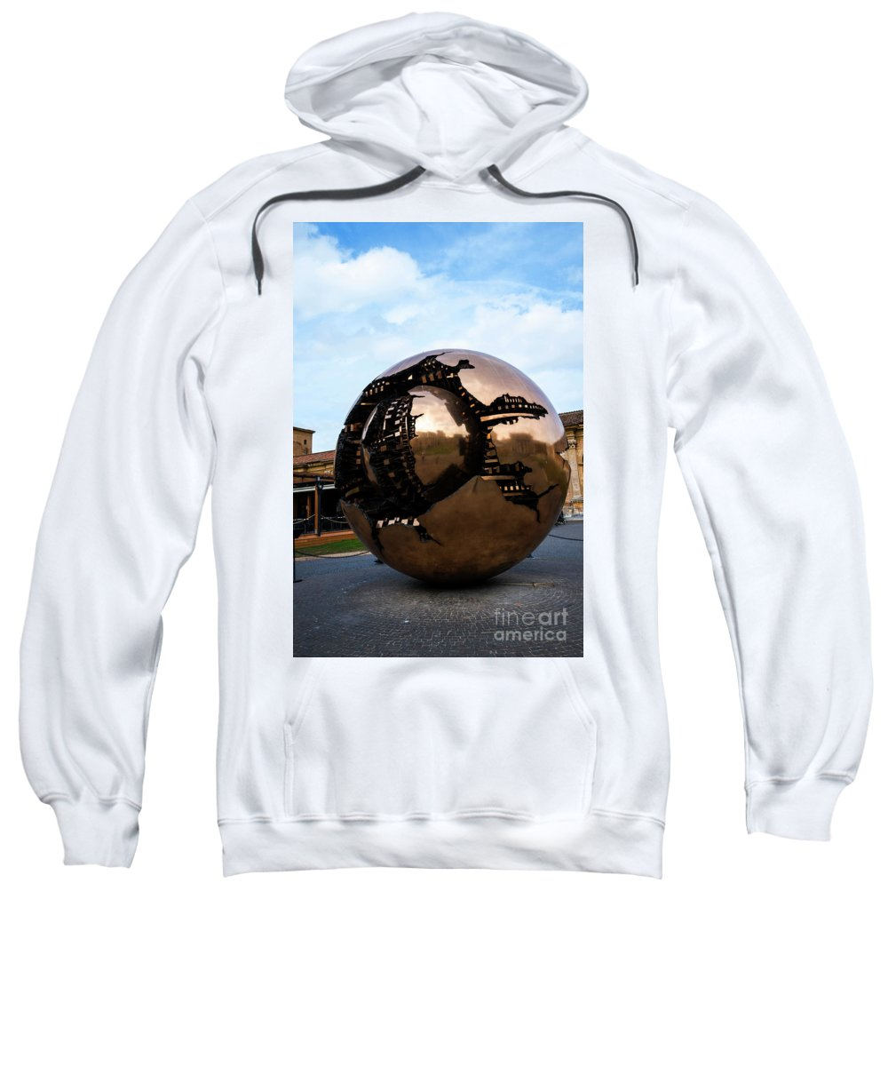 World Within A World Sweatshirt featuring the photograph World Within A World by Brenda Kean