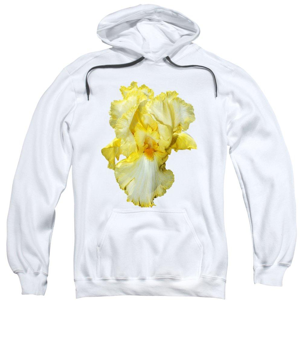 7219594d60 Yellow Mist Iris Sweatshirt