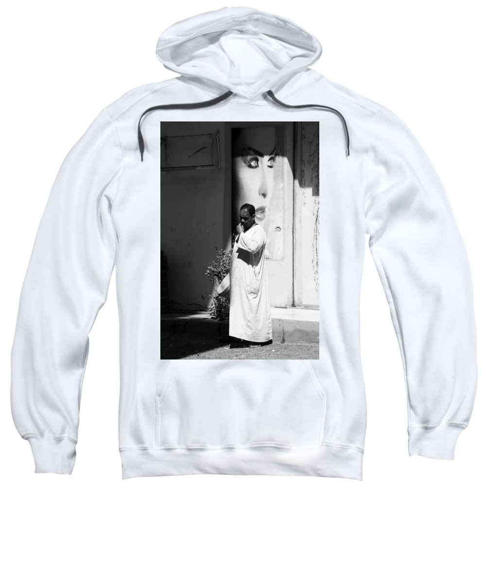 Jez C Self Sweatshirt featuring the photograph You Feel Safe by Jez C Self
