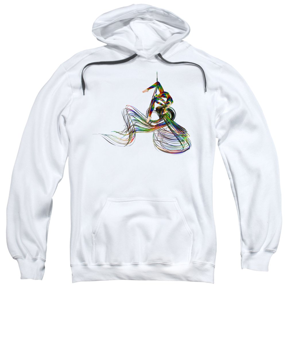 Hoops Digital Art Hooded Sweatshirts T-Shirts
