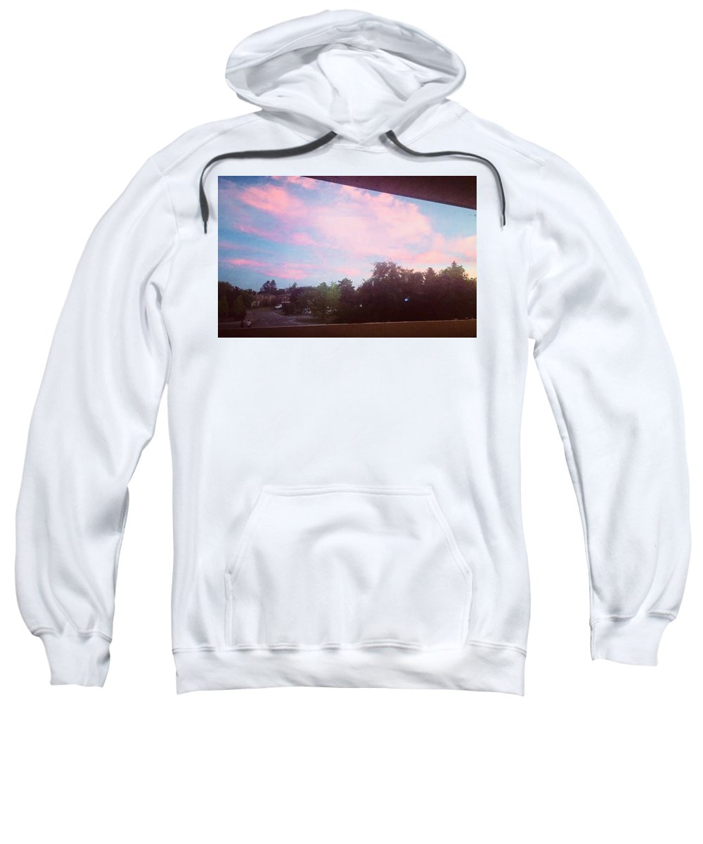 Sweatshirt featuring the photograph Cotton Candy by V and MJ S