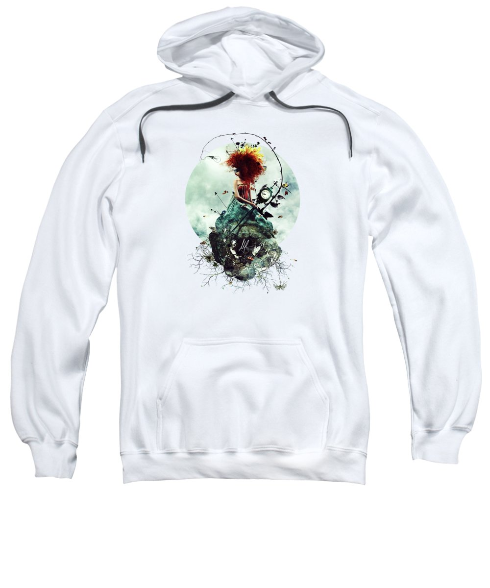 Cold Day Digital Art Hooded Sweatshirts T-Shirts