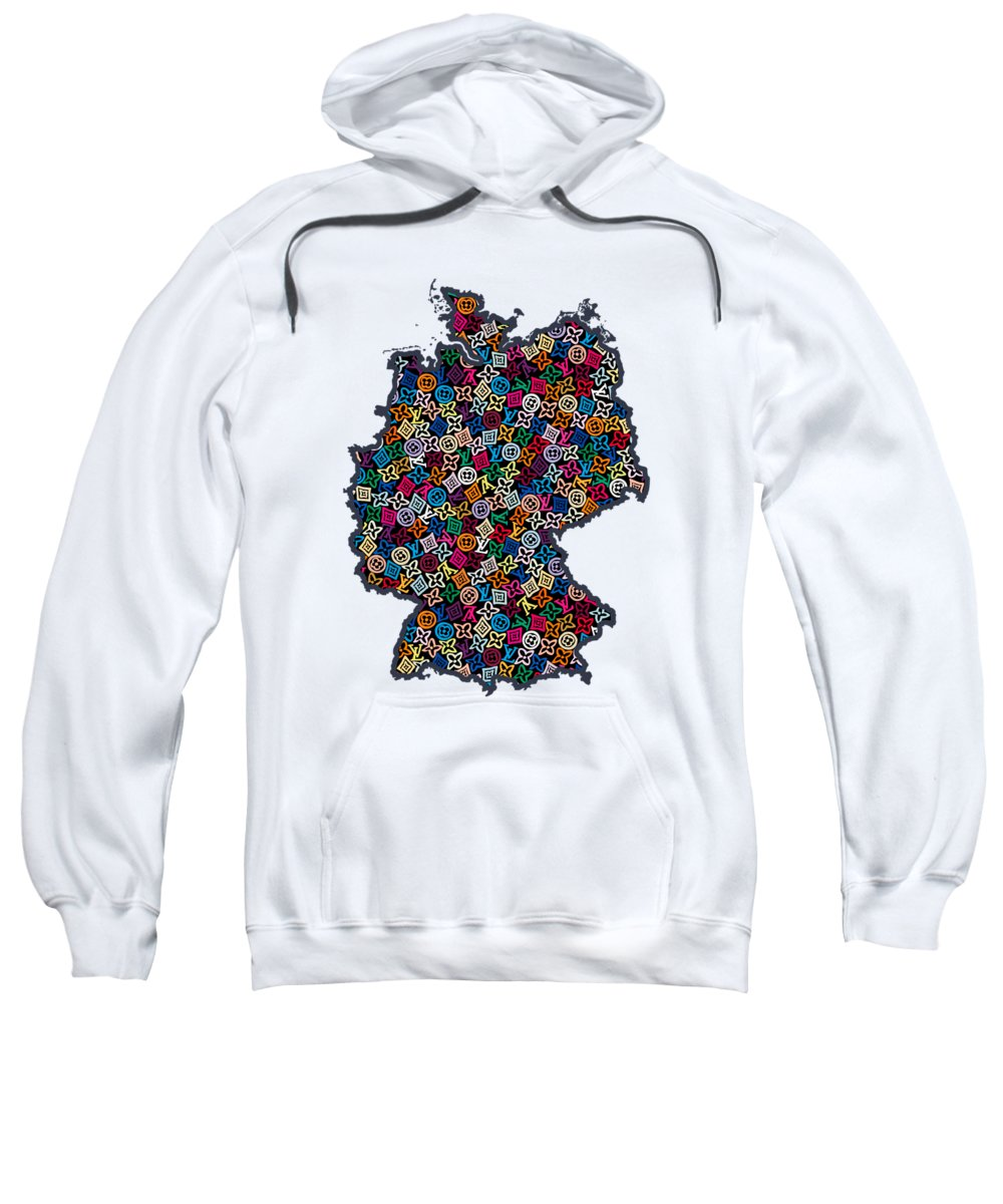 Map Of Germany For Sale.Map Of Germany 1 Sweatshirt