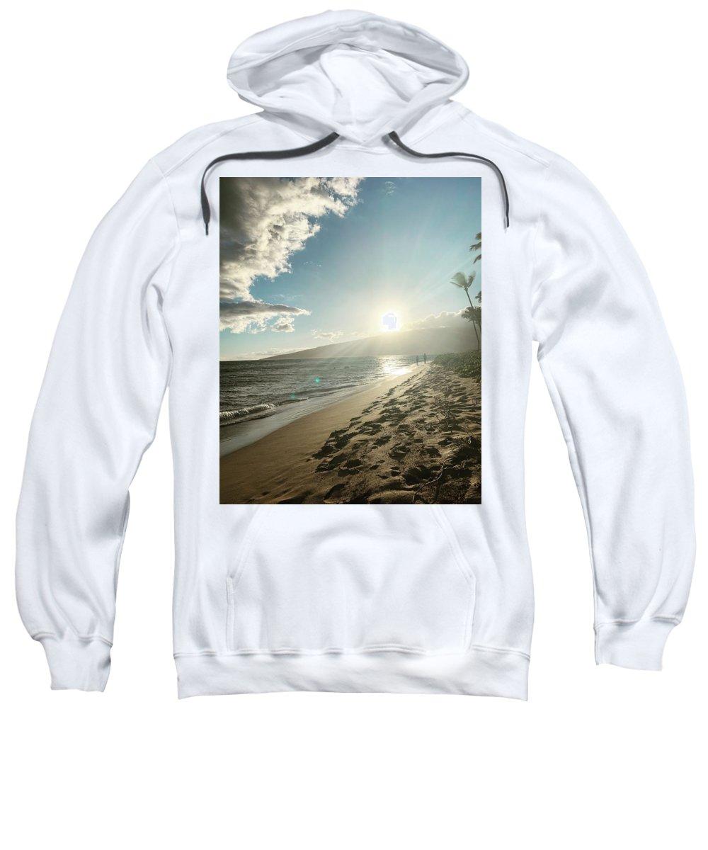 Hawaii Sweatshirt featuring the photograph Maui by Kristin Rogers