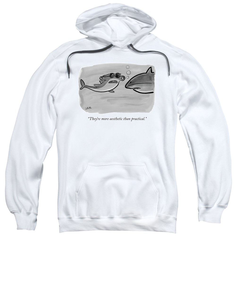 More Aesthetic Than Practical Adult Pull Over Hoodie For Sale By Jason Adam Katzenstein