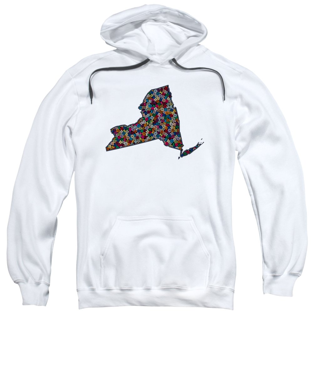 New York State Paintings Hooded Sweatshirts T-Shirts