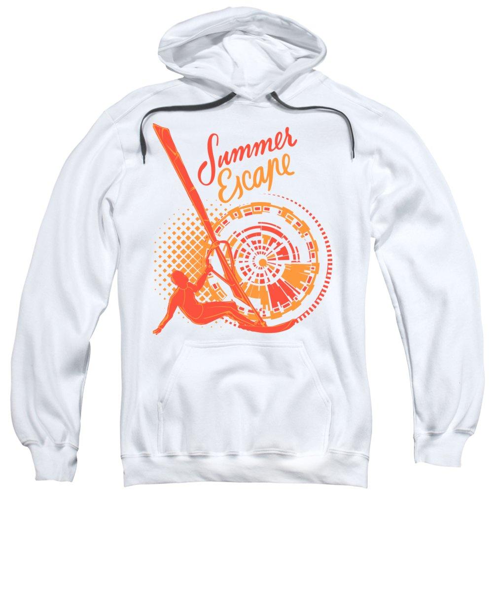 Sea Digital Art Hooded Sweatshirts T-Shirts