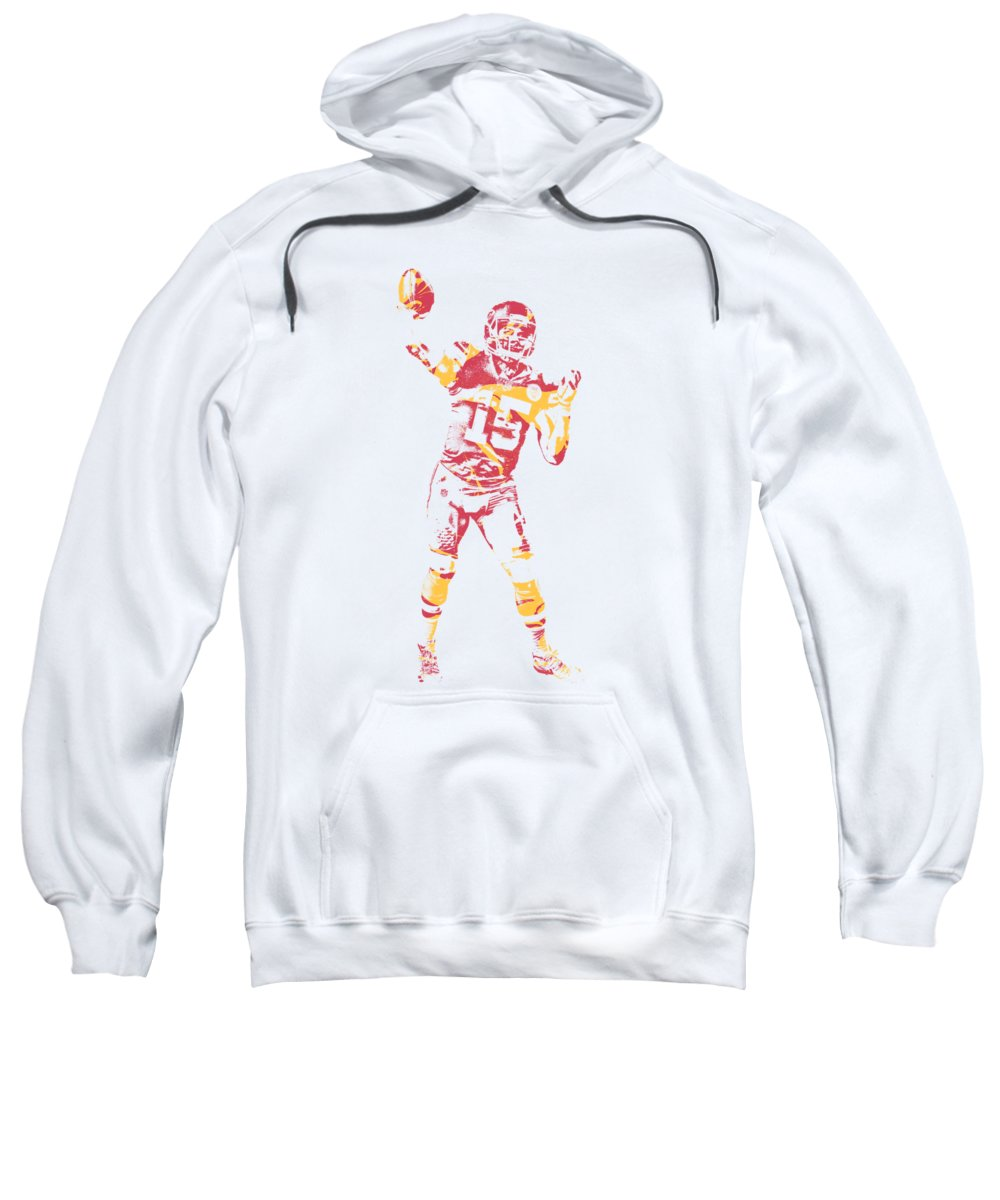 wholesale dealer a487f 778f6 Patrick Mahomes Kansas City Chiefs Apparel T Shirt Pixel Art 2 Sweatshirt