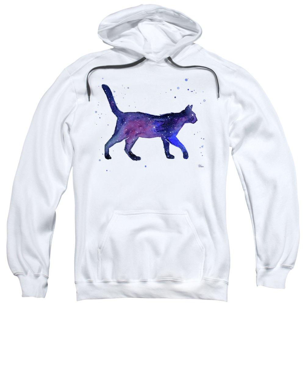Milky Way Hooded Sweatshirts T-Shirts