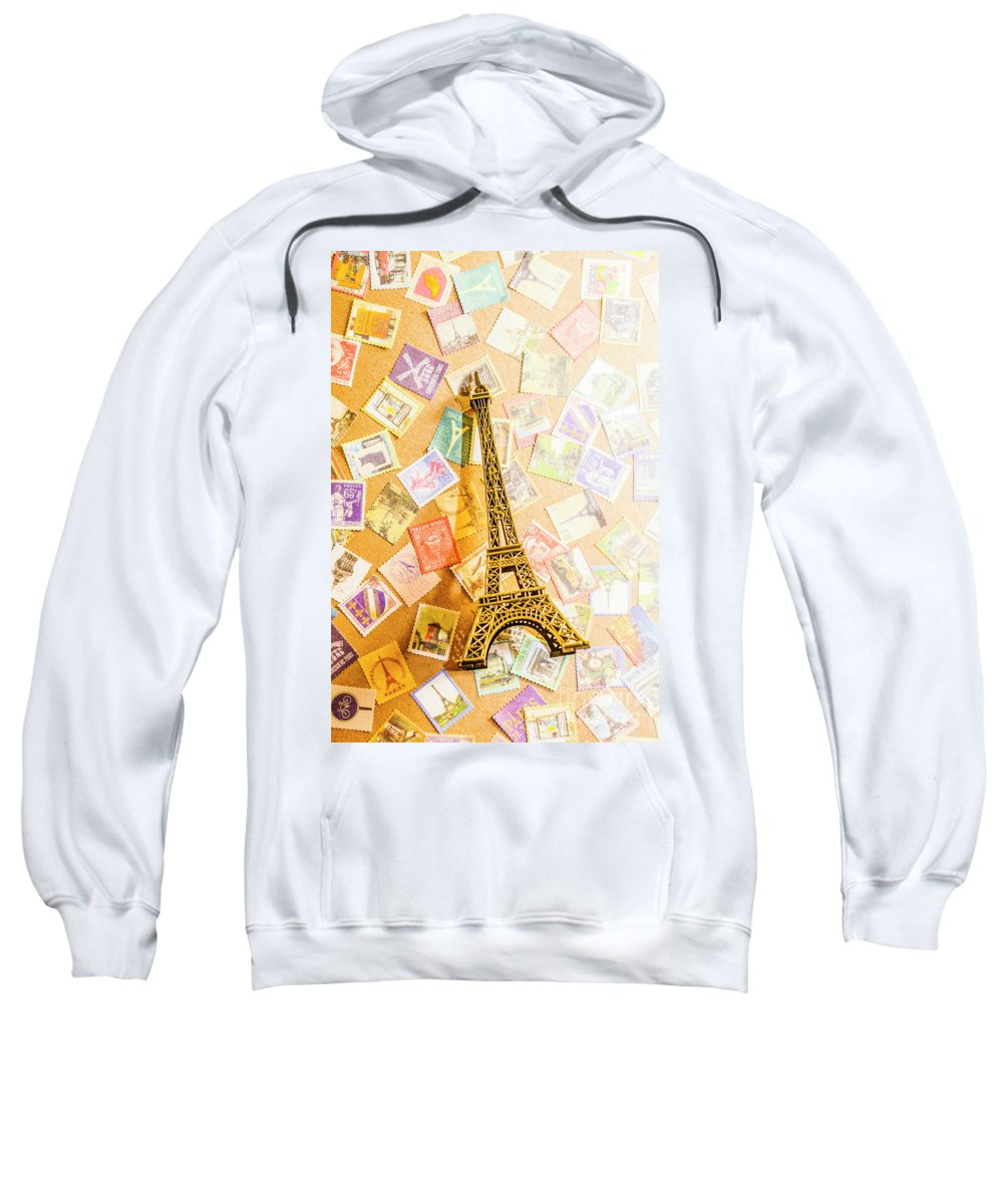 Eiffel Tower Sweatshirt featuring the photograph Tower Of Eiffel by Jorgo Photography - Wall Art Gallery