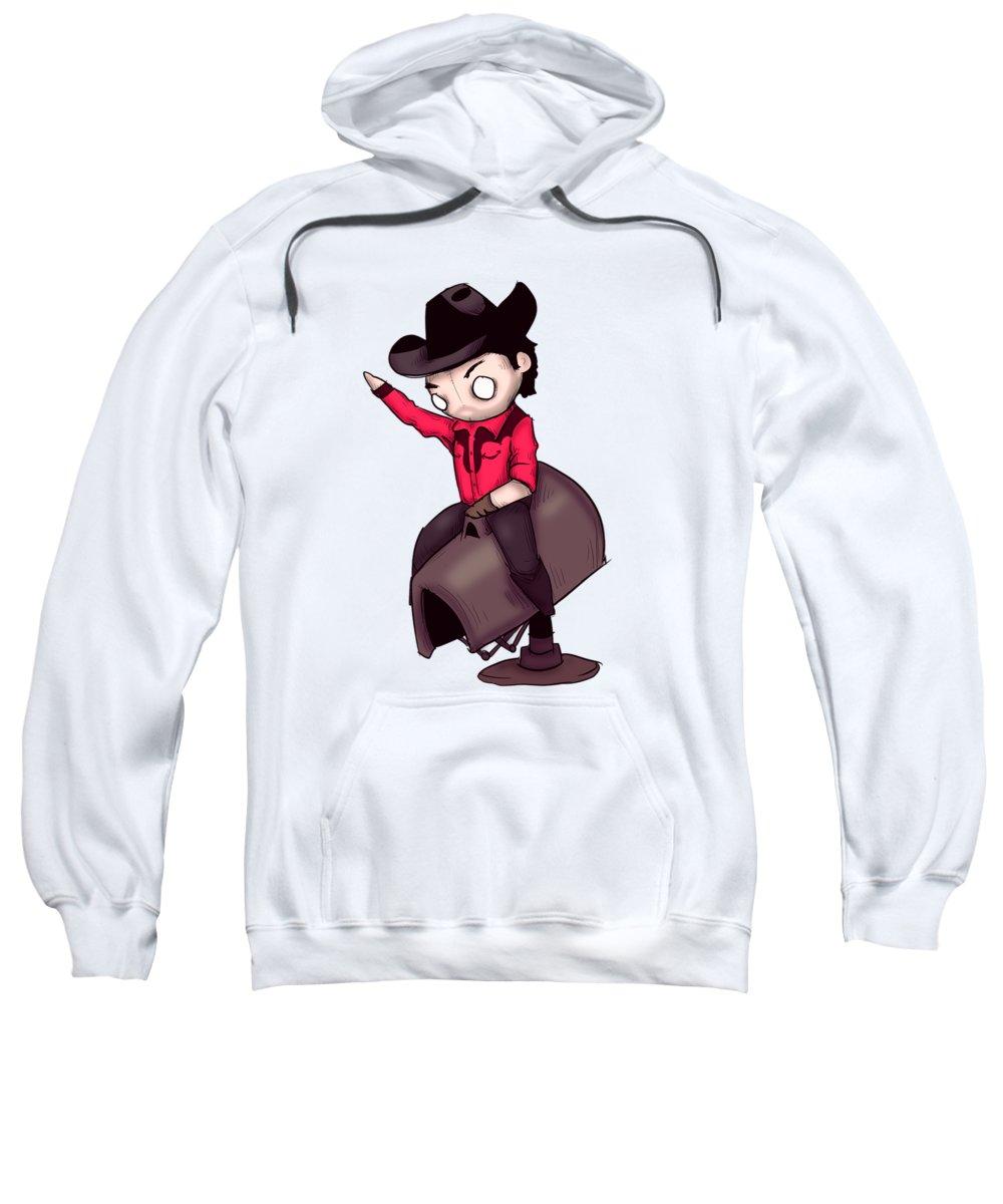 Cowboy Drawings Hooded Sweatshirts T-Shirts