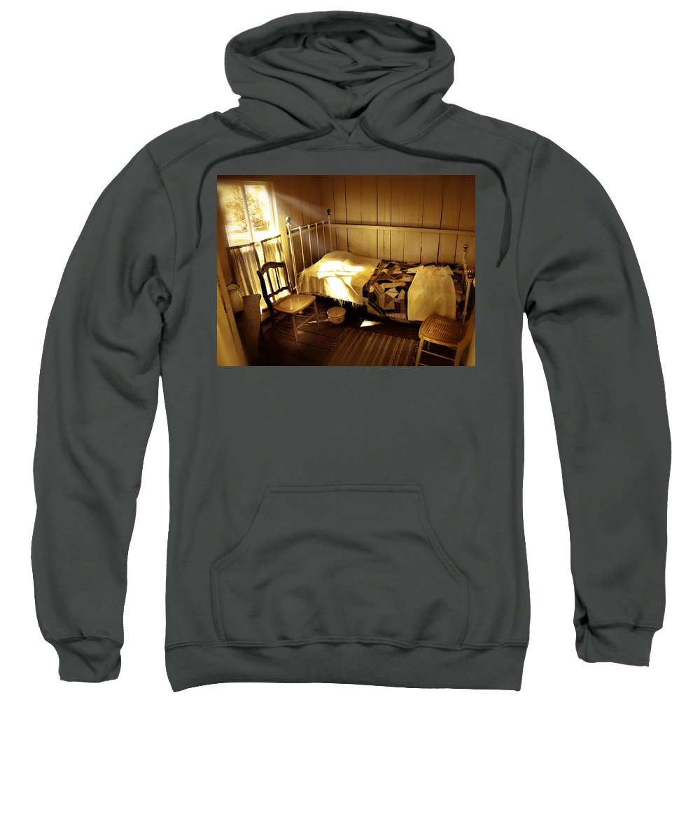 Bedroom Sweatshirt featuring the photograph Dreams by Mal Bray
