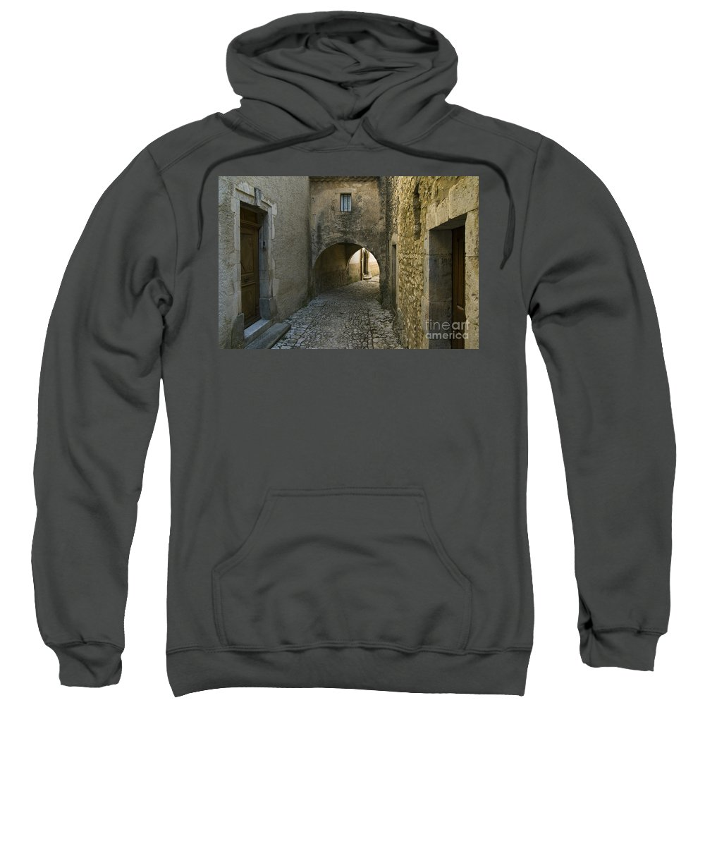 Alley Sweatshirt featuring the photograph 080720p012 by Arterra Picture Library