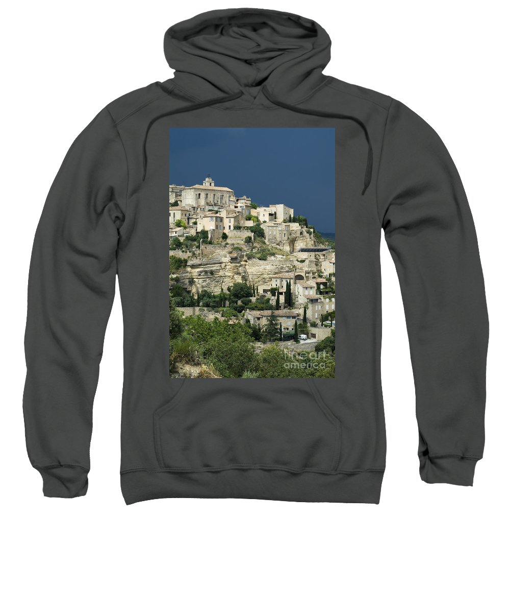 Town Sweatshirt featuring the photograph 080720p039 by Arterra Picture Library
