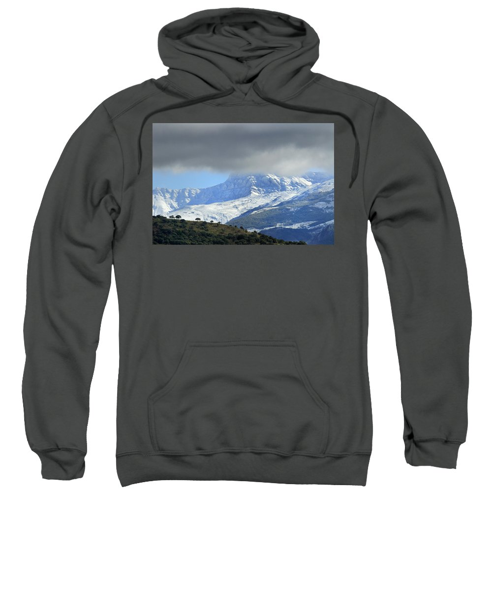 Photo Sweatshirt featuring the photograph Alcazaba 3315 Meters by Guido Montanes Castillo