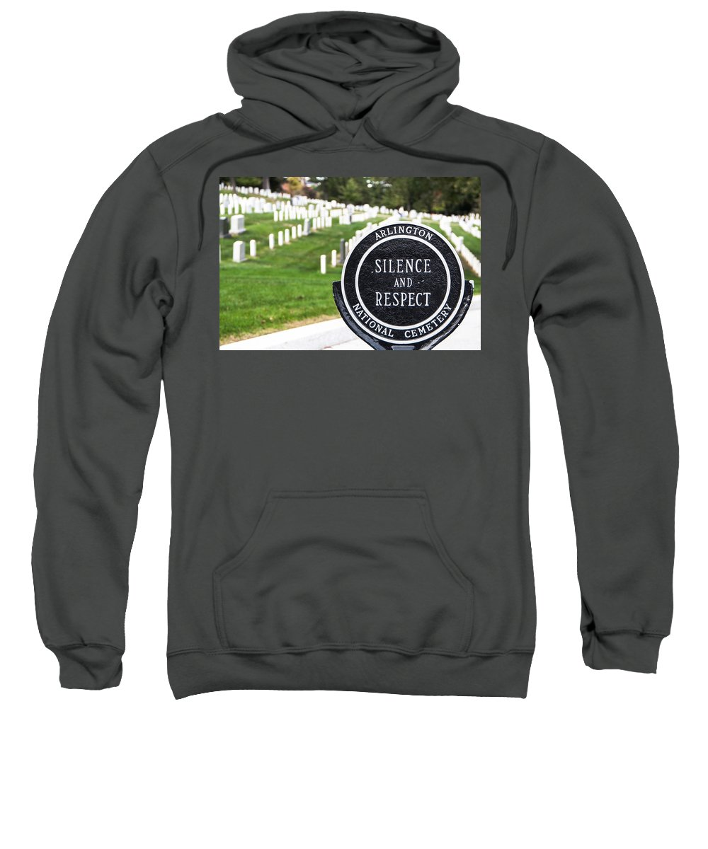 Cemetery Sweatshirt featuring the photograph Arlington National Cemetery Part 1 by Alex Hiemstra