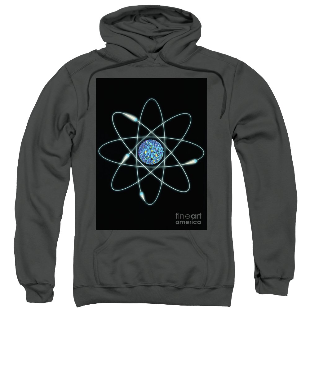 Atom Sweatshirt featuring the photograph Atom by Mike Agliolo