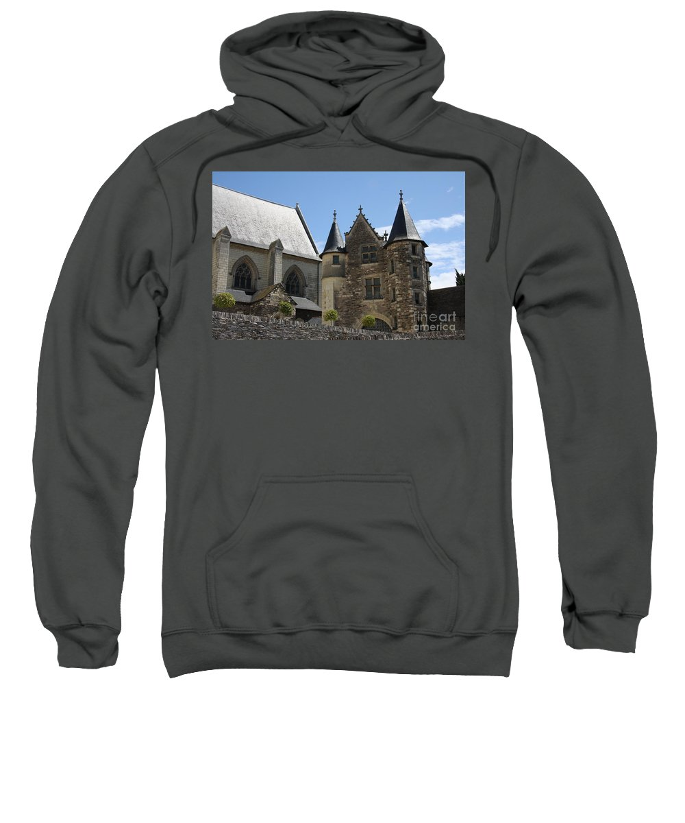 Castle Sweatshirt featuring the photograph Chateau D'angers by Christiane Schulze Art And Photography