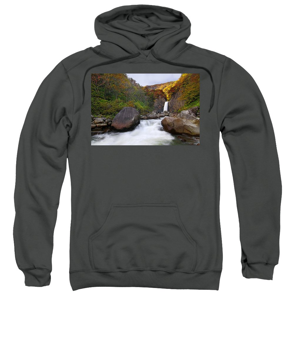 Water Fall Sweatshirt featuring the photograph Colors Of Fall by Midori Chan