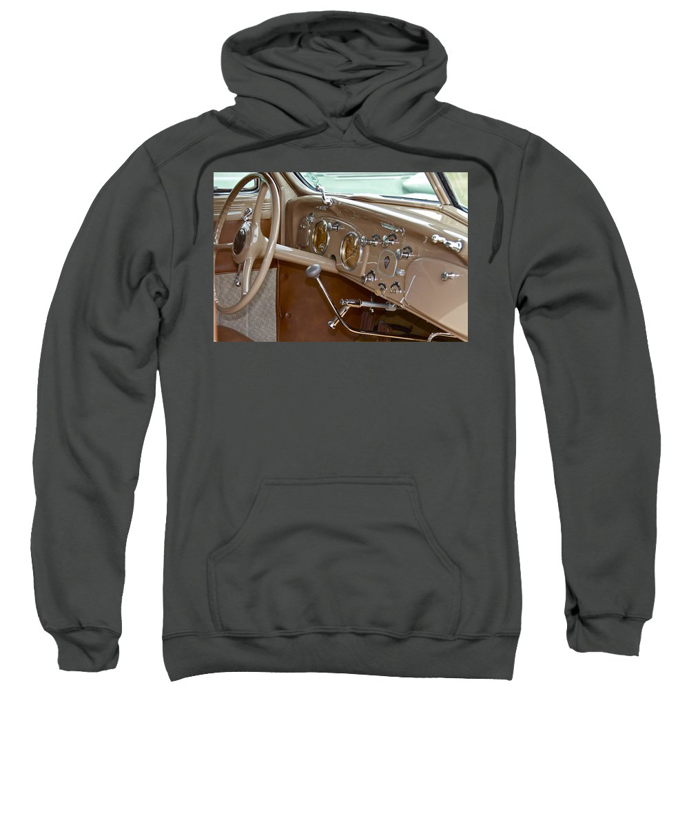 Antique Sweatshirt featuring the photograph Desoto by Jack R Perry