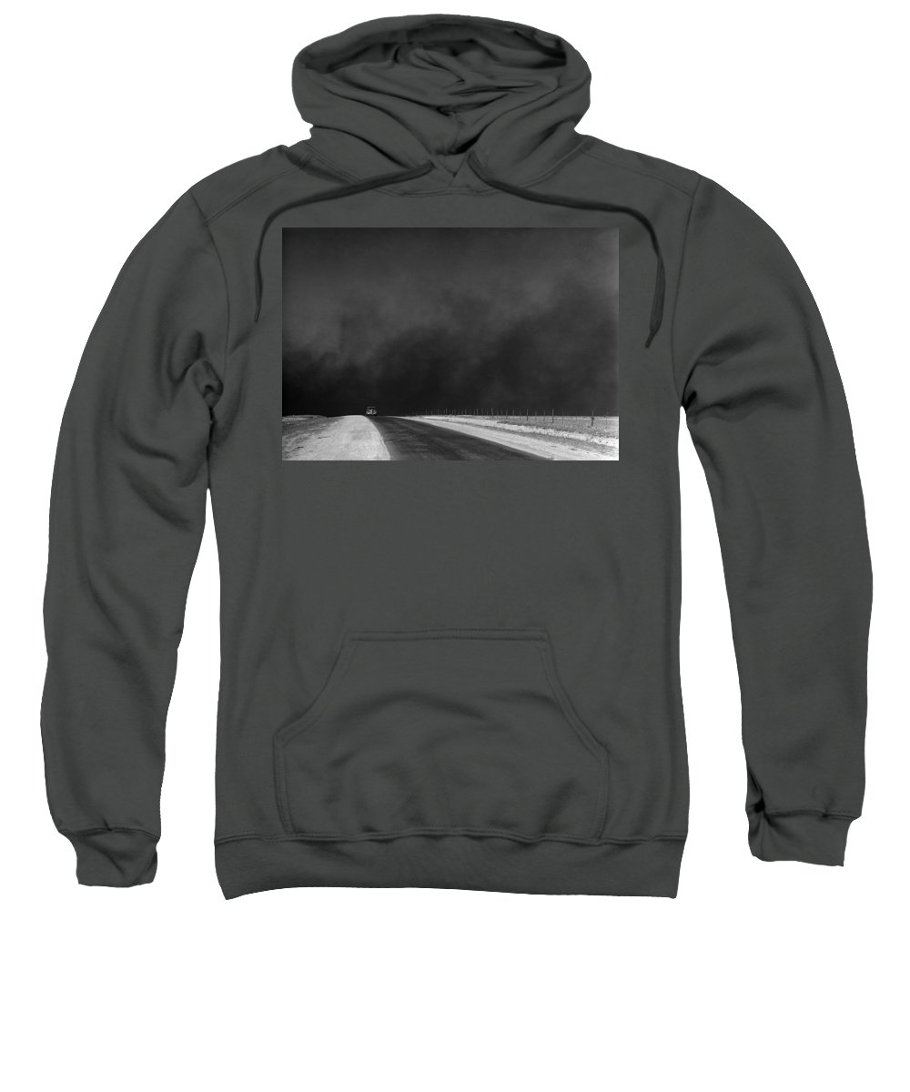 1936 Sweatshirt featuring the photograph Dust Bowl, 1936 by Granger