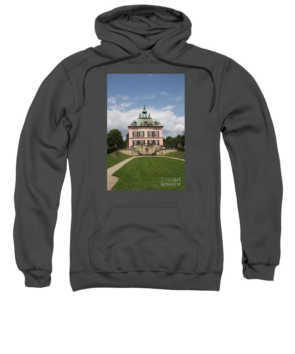 Palace Sweatshirt featuring the photograph Fasanen Schloesschen - Germany  Pheasant Palace by Christiane Schulze Art And Photography