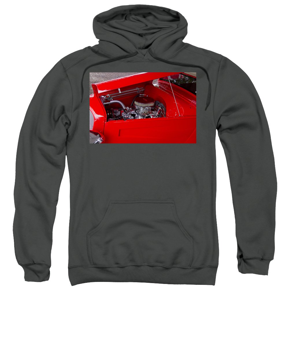 American Sweatshirt featuring the photograph Hot Chev by Jack R Perry