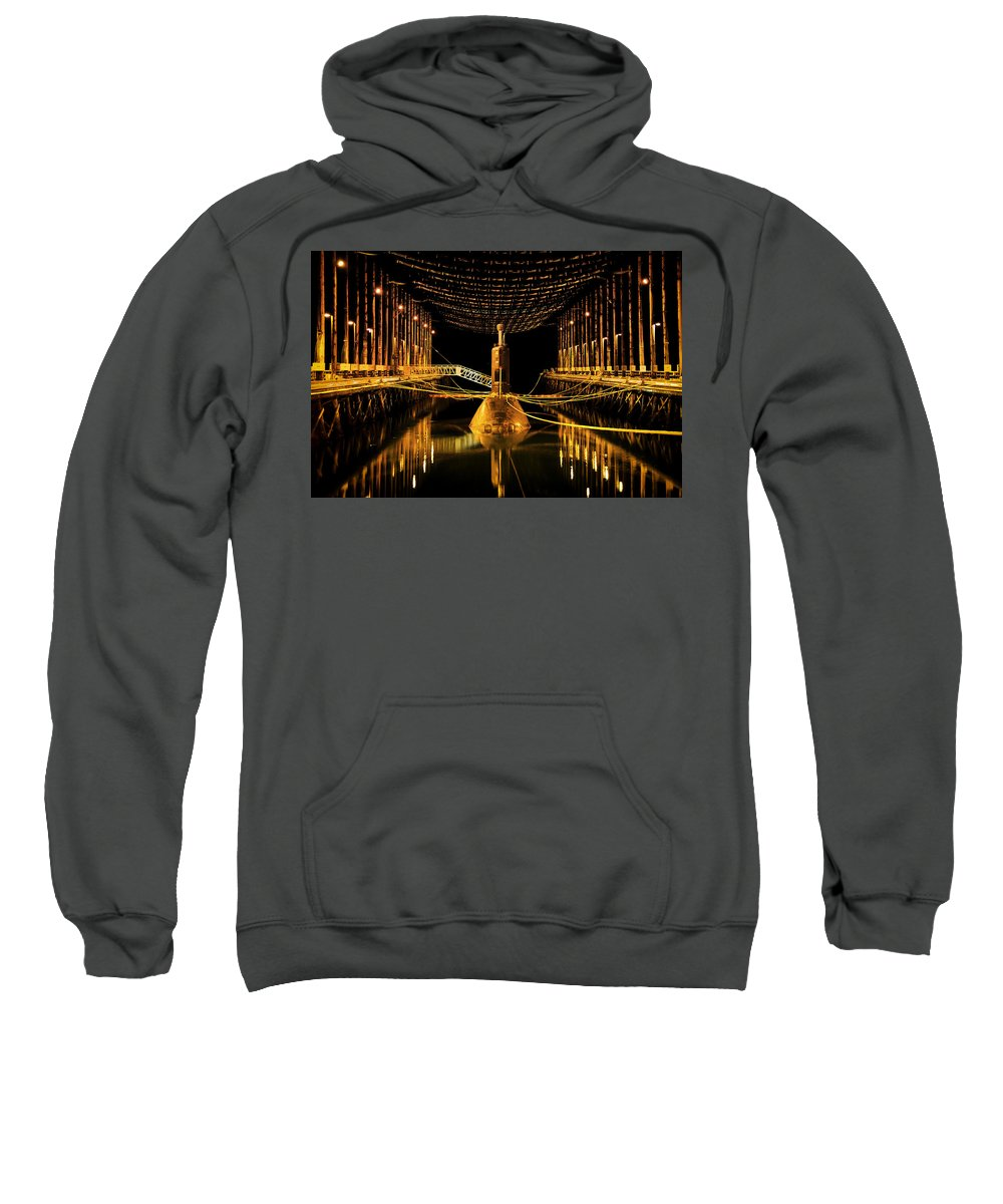 Royal Canadian Sweatshirt featuring the photograph In For The Night by Mountain Dreams