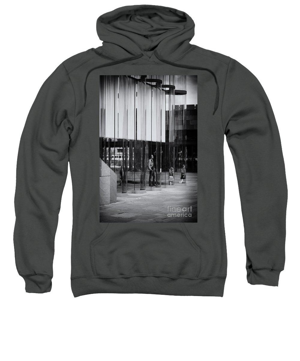Inside View Sweatshirt featuring the photograph In The Glasshouse by Brothers Beerens