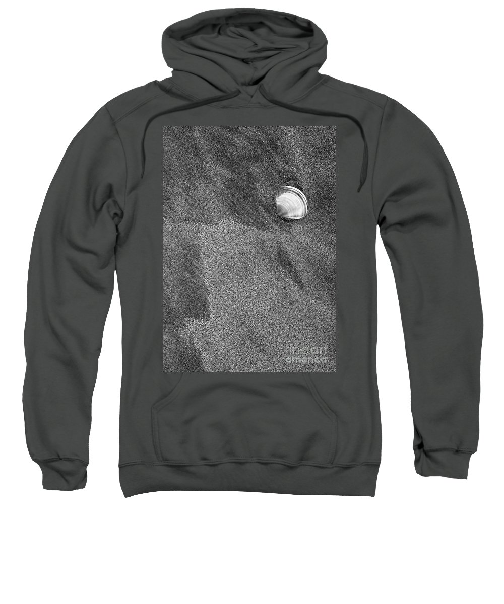 Shell Sweatshirt featuring the photograph Left Behind by Mike Dawson