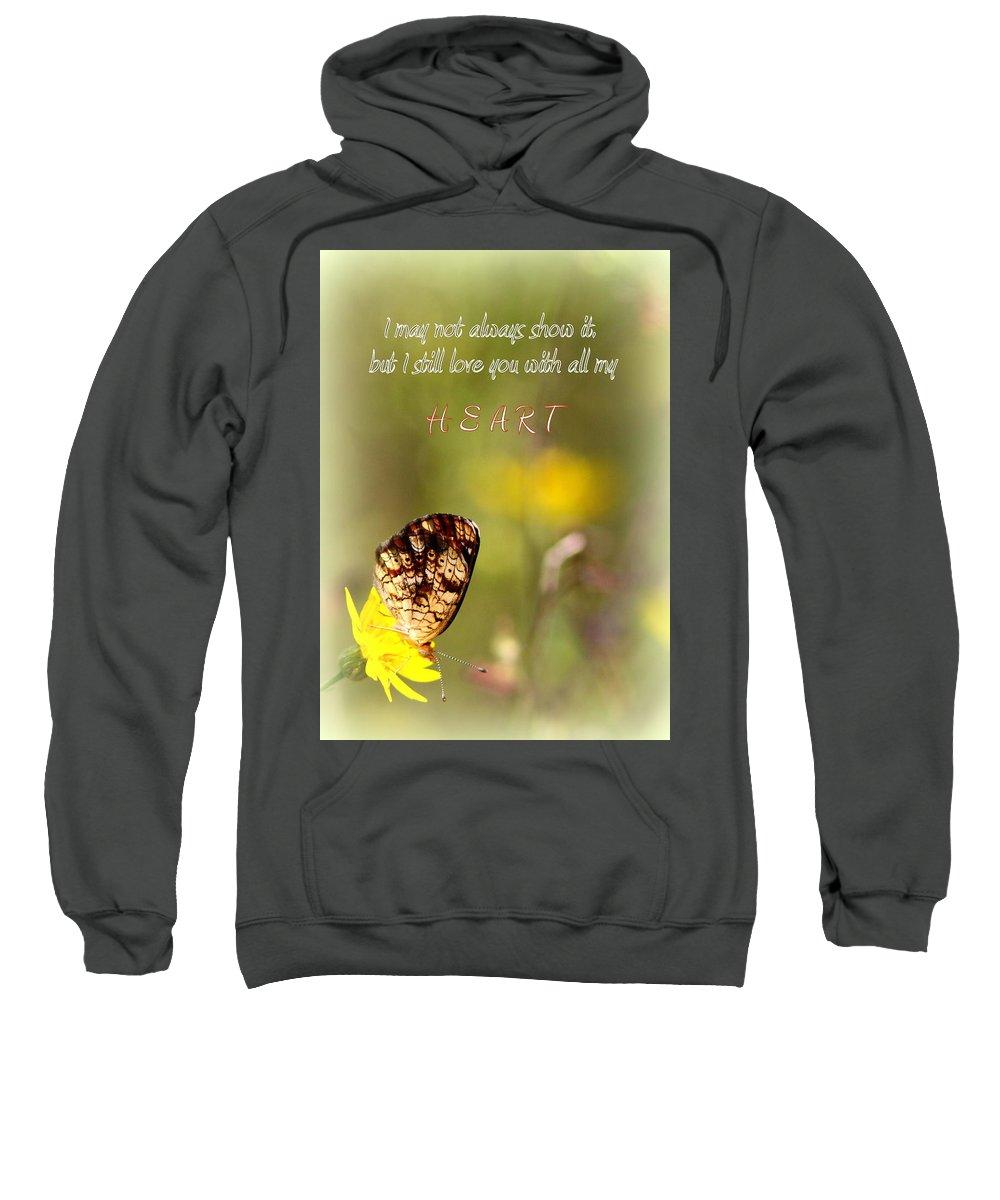 Love Sweatshirt featuring the photograph Love by Travis Truelove